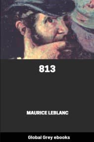 cover page for the Global Grey edition of 813 by Maurice Leblanc