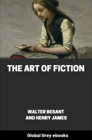 The Art of Fiction By Walter Besant and Henry James