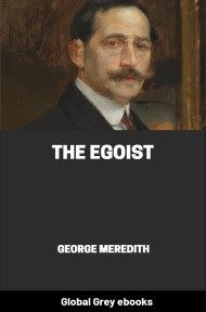 cover page for the Global Grey edition of The Egoist by George Meredith