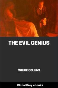 cover page for the Global Grey edition of The Evil Genius by Wilkie Collins
