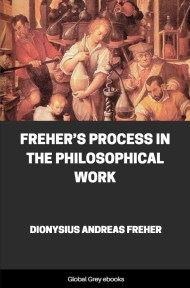 cover page for the Global Grey edition of Freher's Process in the Philosophical Work by Dionysius Andreas Freher