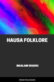 cover page for the Global Grey edition of Hausa Folklore by Maalam Shaihu