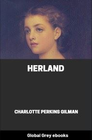 cover page for the Global Grey edition of Herland by Charlotte Perkins Gilman