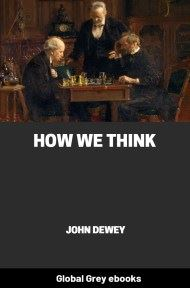 cover page for the Global Grey edition of How We Think by John Dewey