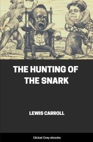 cover page for the Global Grey edition of The Hunting of the Snark by Lewis Carroll