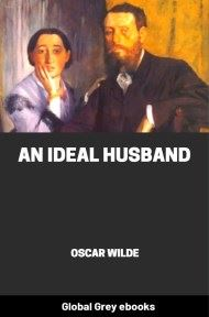 cover page for the Global Grey edition of An Ideal Husband by Oscar Wilde