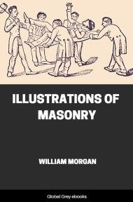 cover page for the Global Grey edition of Illustrations of Masonry by William Morgan
