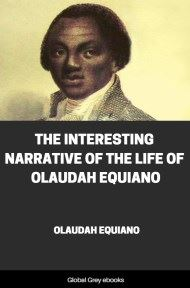 cover page for the Global Grey edition of The Interesting Narrative of the Life of Olaudah Equiano, Or Gustavus Vassa by Olaudah Equiano