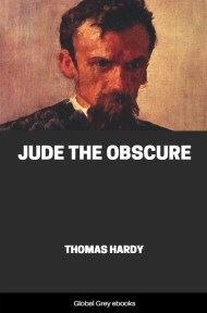 cover page for the Global Grey edition of Jude the Obscure by Thomas Hardy