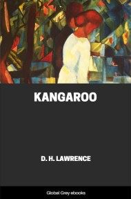 cover page for the Global Grey edition of Kangaroo by D. H. Lawrence