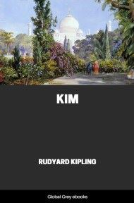 cover page for the Global Grey edition of Kim by Rudyard Kipling