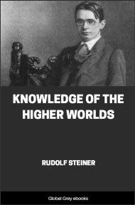 cover page for the Global Grey edition of Knowledge of the Higher Worlds by Rudolf Steiner