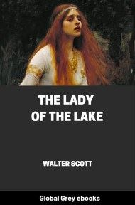 cover page for the Global Grey edition of The Lady of the Lake by Walter Scott