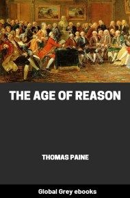 cover page for the Global Grey edition of The Age of Reason by Thomas Paine