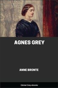 cover page for the Global Grey edition of Agnes Grey by Anne Bronte