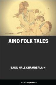 cover page for the Global Grey edition of Aino Folk Tales by Basil Hall Chamberlain