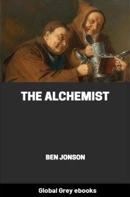 cover page for the Global Grey edition of The Alchemist by Ben Jonson
