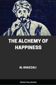 cover page for the Global Grey edition of The Alchemy of Happiness by Al Ghazzali