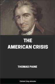 cover page for the Global Grey edition of The American Crisis by Thomas Paine