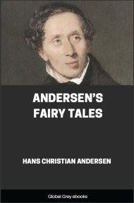 cover page for the Global Grey edition of Andersen's Fairy Tales by Hans Christian Andersen