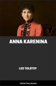 cover page for the Global Grey edition of Anna Karenina by Leo Tolstoy
