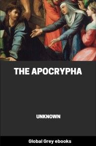 cover page for the Global Grey edition of The Apocrypha by Unknown