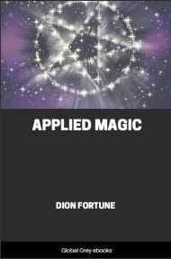 cover page for the Global Grey edition of Applied Magic by Dion Fortune