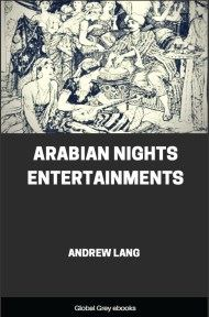 cover page for the Global Grey edition of Arabian Nights Entertainments by Andrew Lang