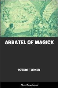 Arbatel of Magick