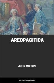 cover page for the Global Grey edition of Areopagitica by John Milton