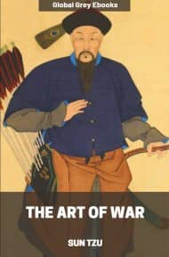 cover page for the Global Grey edition of The Art of War by Sun Tzu