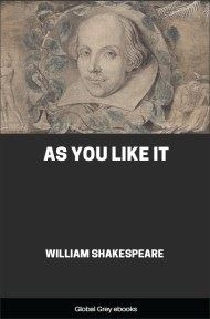 cover page for the Global Grey edition of As You Like It by William Shakespeare