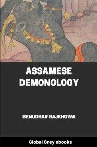 cover page for the Global Grey edition of Assamese Demonology by Benudhar Rajkhowa