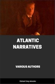 cover page for the Global Grey edition of Atlantic Narratives: Modern Short Stories by Various