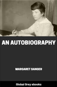 cover page for the Global Grey edition of An Autobiography by Margaret Sanger