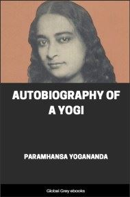 cover page for the Global Grey edition of Autobiography of a Yogi by Paramhansa Yogananda