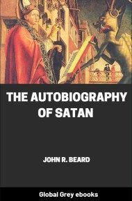 cover page for the Global Grey edition of The Autobiography of Satan by John R. Beard