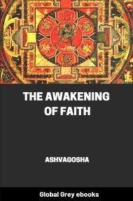 cover page for the Global Grey edition of The Awakening of Faith by Ashvagosha