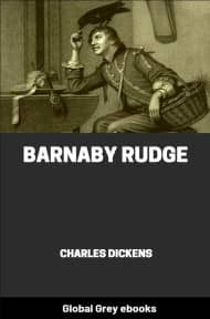 cover page for the Global Grey edition of Barnaby Rudge by Charles Dickens