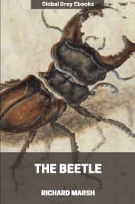 cover page for the Global Grey edition of The Beetle by Richard Marsh
