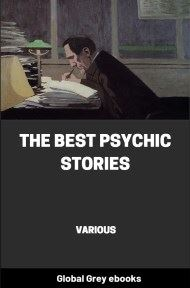 cover page for the Global Grey edition of The Best Psychic Stories by Various