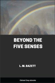 cover page for the Global Grey edition of Beyond The Five Senses by L. M. Bazett