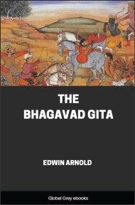 cover page for the Global Grey edition of The Bhagavad Gita by Edwin Arnold