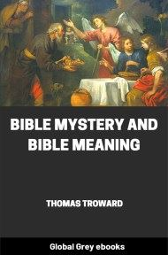 cover page for the Global Grey edition of Bible Mystery and Bible Meaning by Thomas Troward