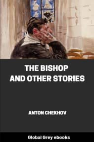 cover page for the Global Grey edition of The Bishop and Other Stories by Anton Chekhov