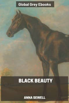 cover page for the Global Grey edition of Black Beauty By Anna Sewell