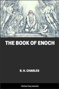 cover page for the Global Grey edition of The Book of Enoch by R. H. Charles