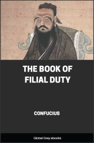 cover page for the Global Grey edition of The Book of Filial Duty by Confucius