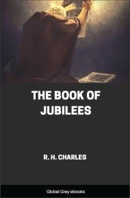 cover page for the Global Grey edition of The Book of Jubilees by R. H. Charles