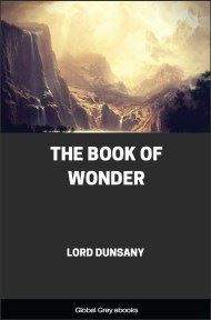 cover page for the Global Grey edition of The Book of Wonder by Lord Dunsany